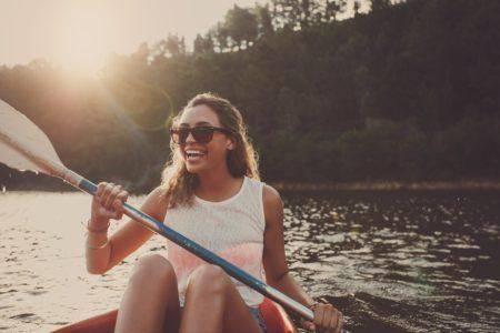 balade en canoe - marin d'eau douce toue cabanée