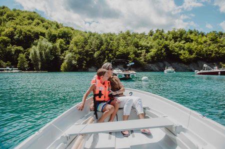 barque privative et motorisée